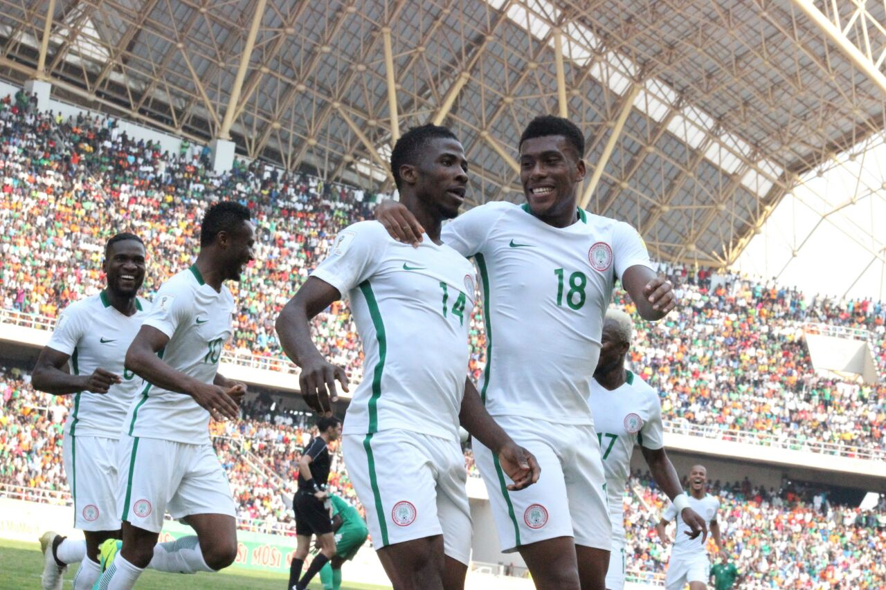 Iwobi Beats Iheanacho To Complete Sports September Player Award