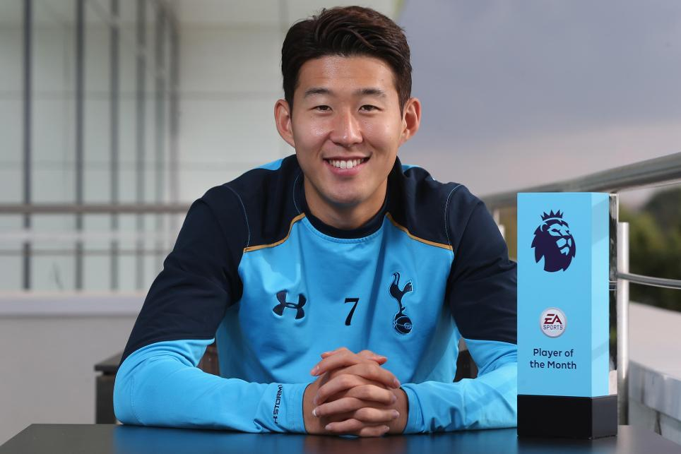 Son Named EPL September Best Player; Beats Walcott, De Bruyne