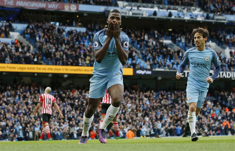 Iheanacho Saves Struggling Man City From Southampton Defeat