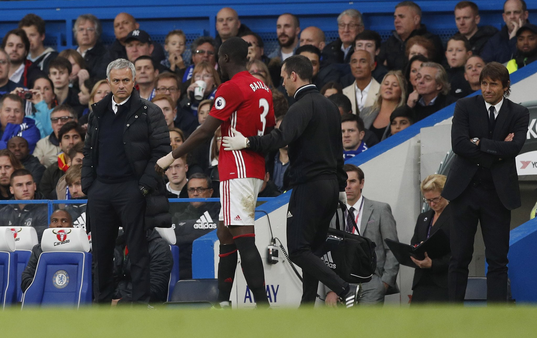 "Mourinho Blames United Defence For Chelsea Thrashing, Reveals ""Bad"" Bailly Injury"