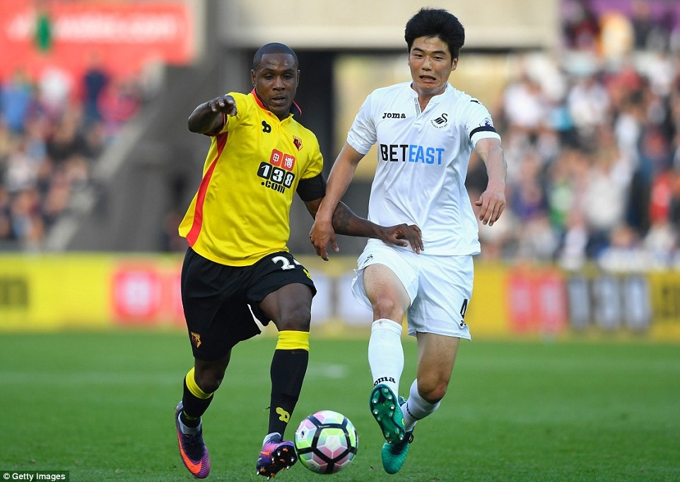 Ighalo: Watford Beat Man United, We Can Beat Palace