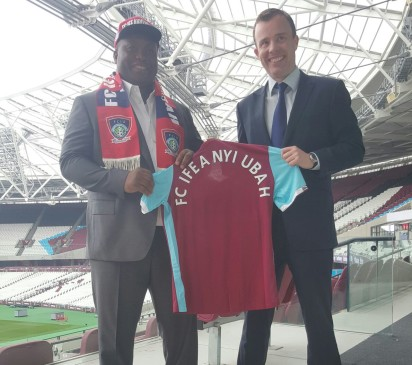 FC Ifeanyiubah, West Ham‎ Seal Partnership Deal; ‎Plan Big Innovations