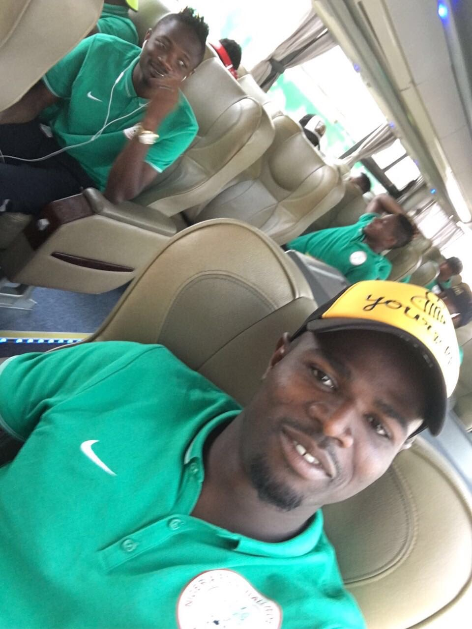 Echiejile, Etebo, Alampasu The Only Eagles Still Expected In Camp