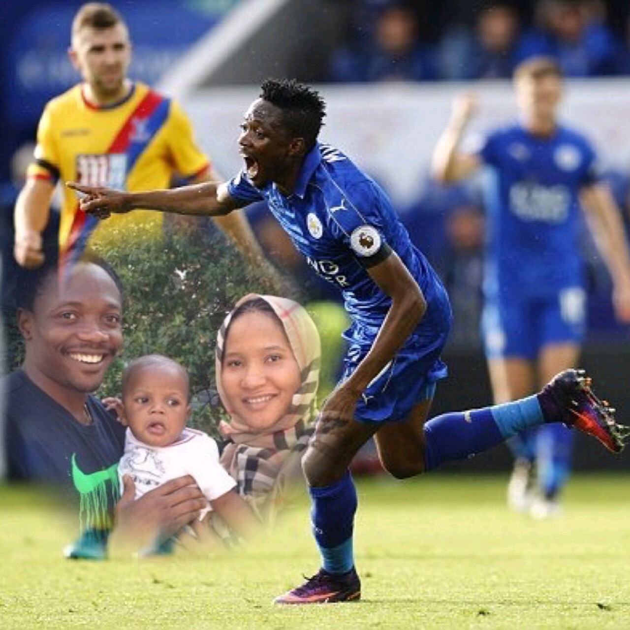 Delighted Musa Dedicates First Leicester Goal To Wife