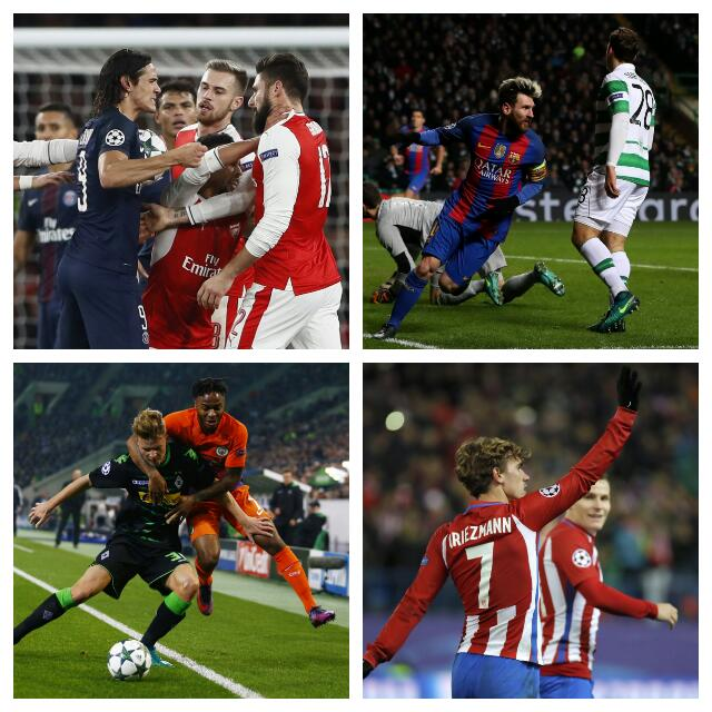 Iwobi Unlucky As Arsenal, PSG Draw; Messi Bags Brace; Iheanacho Benched