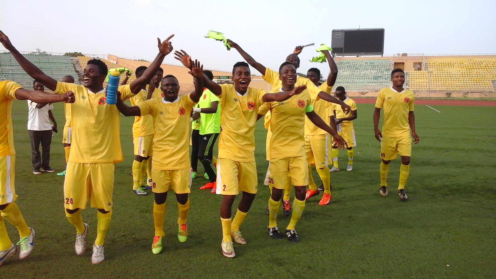ABS Thrash Gateway To Confirm NPFL Promotion
