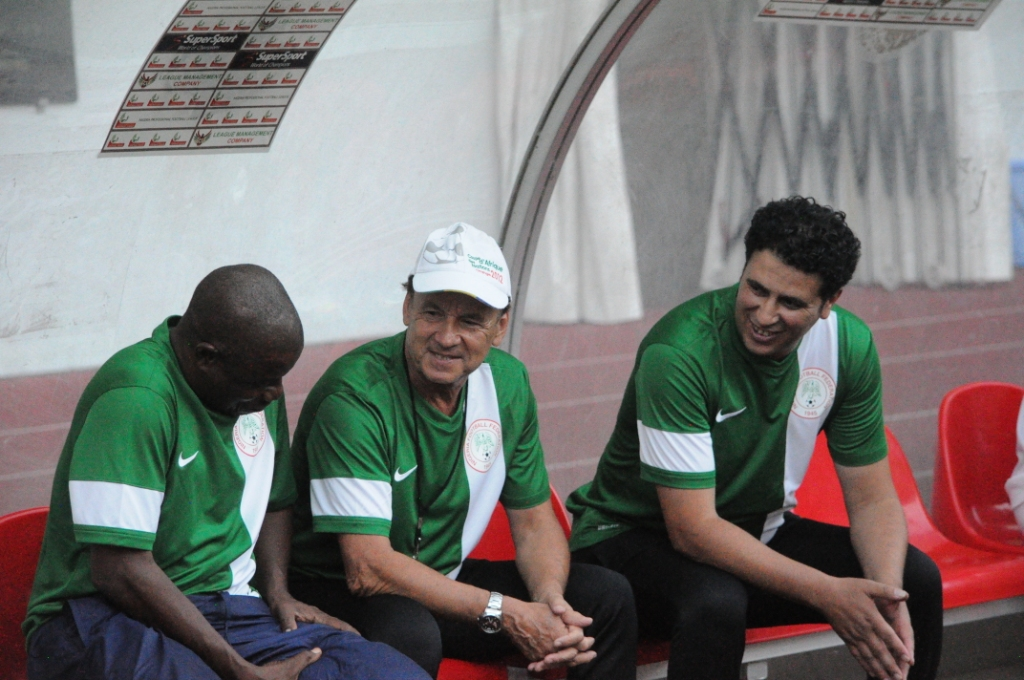 Rohr, Bewarang To Assist Falcons At AWCON