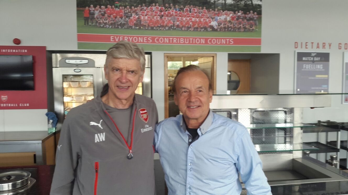 Rohr: What Wenger Told Me About Iwobi