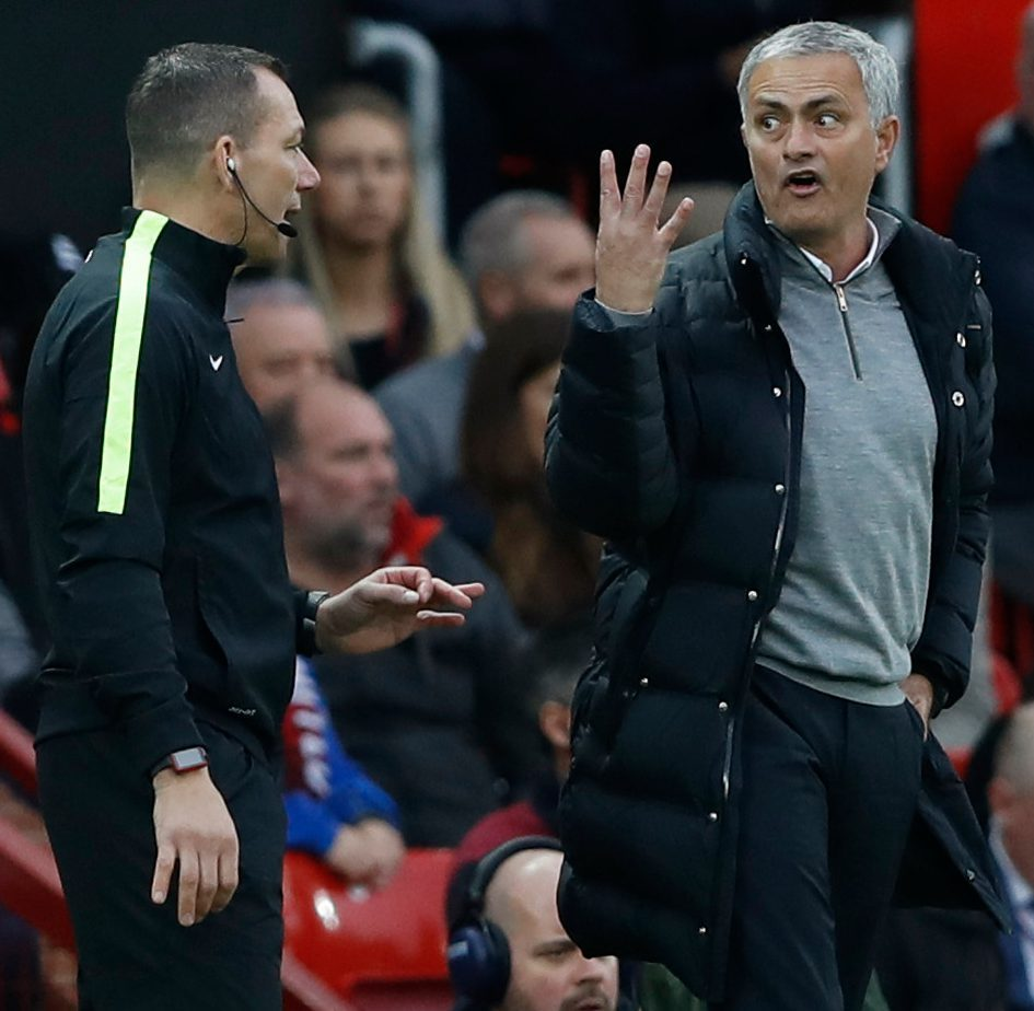 Mourinho Charged With Misconduct After Referee Complaint