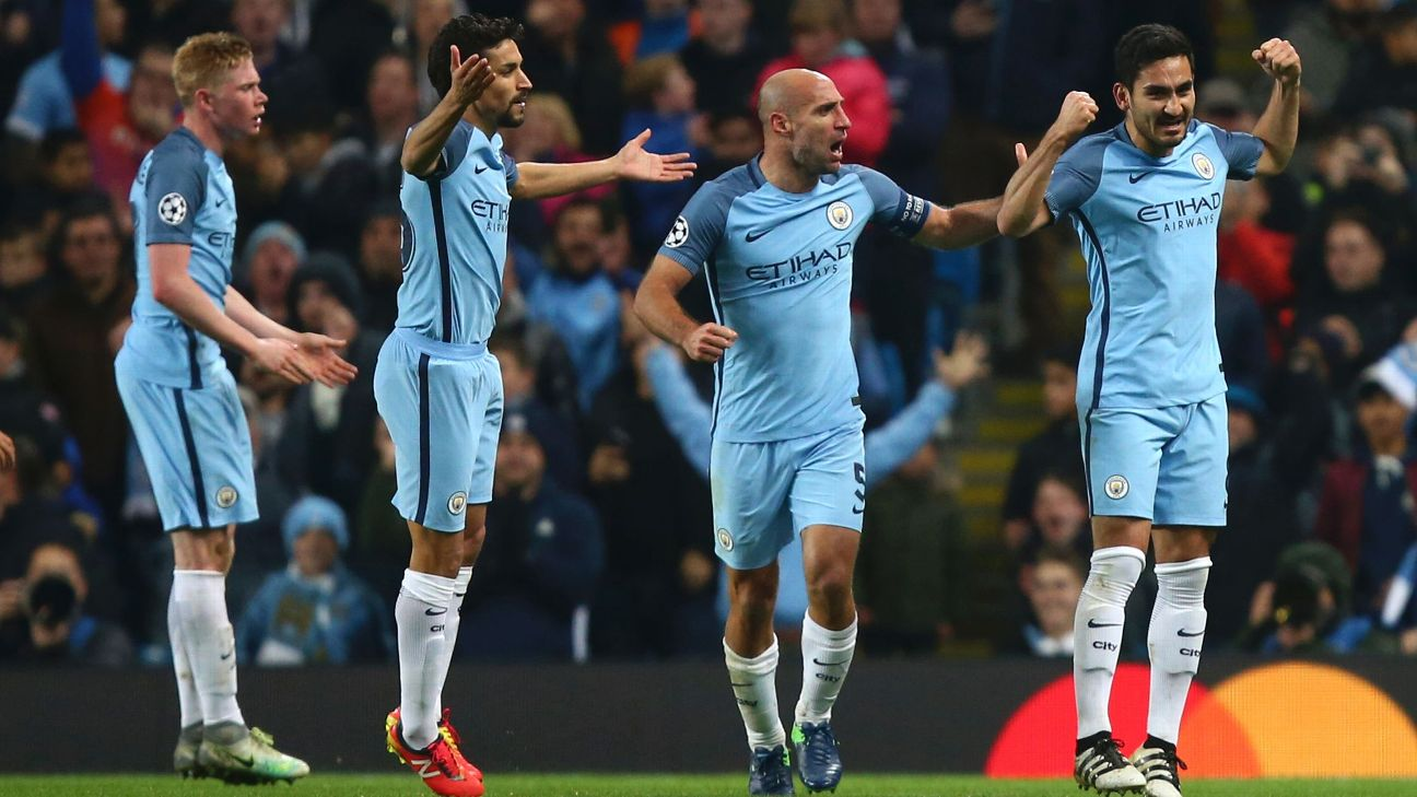Iheanacho Benched As Man City Stun Barca; Arsenal Outscore Ludogorets