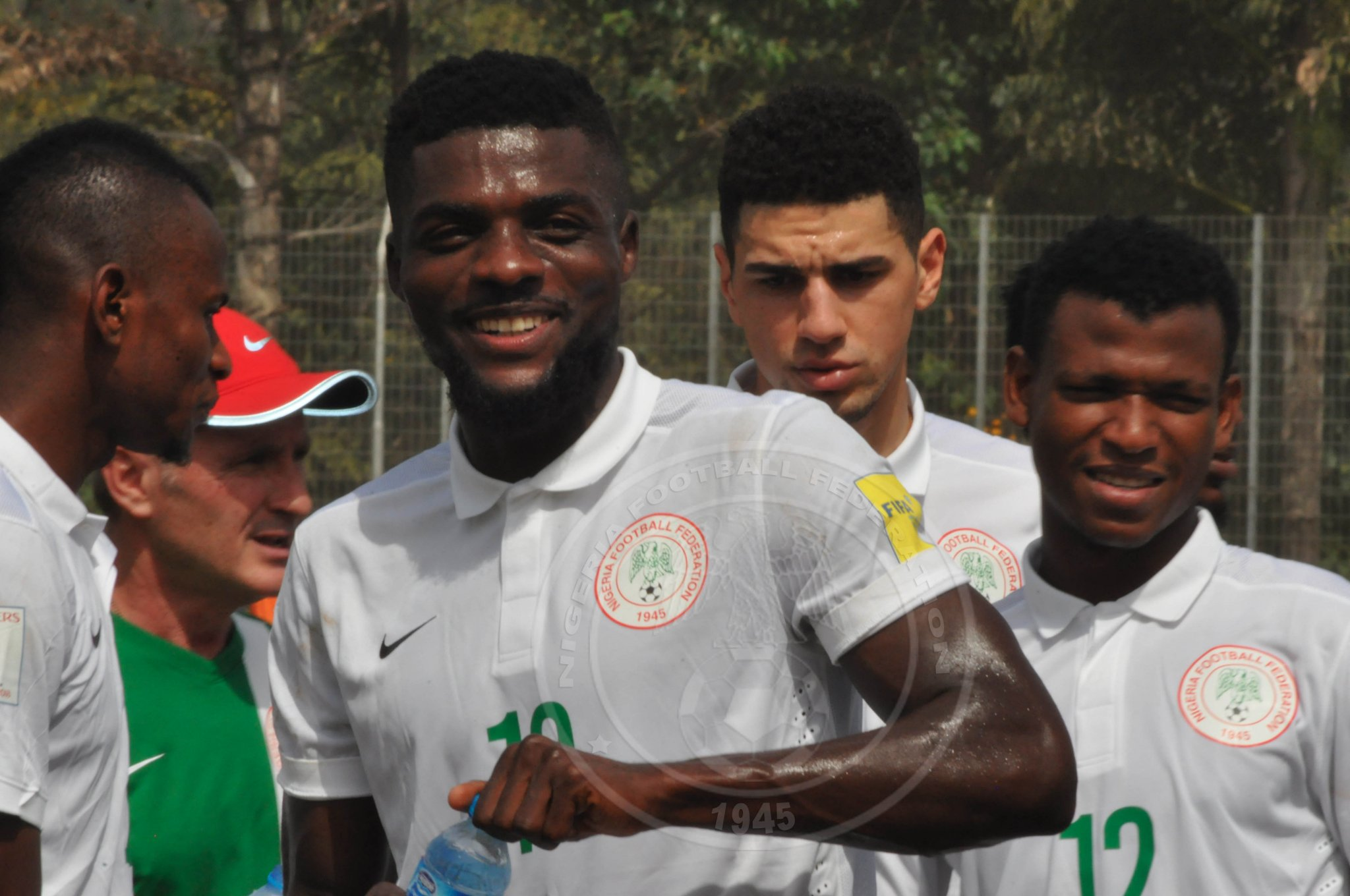 NO TENSION! Eagles In Relaxed Mood Ahead Of Algeria Clash