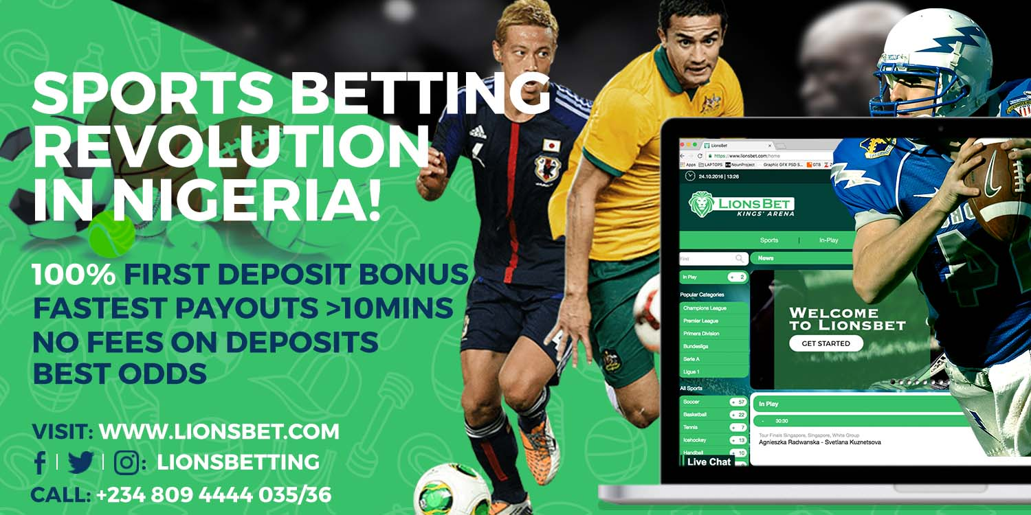 LionsBet.com; Sports Betting Revolution In Nigeria