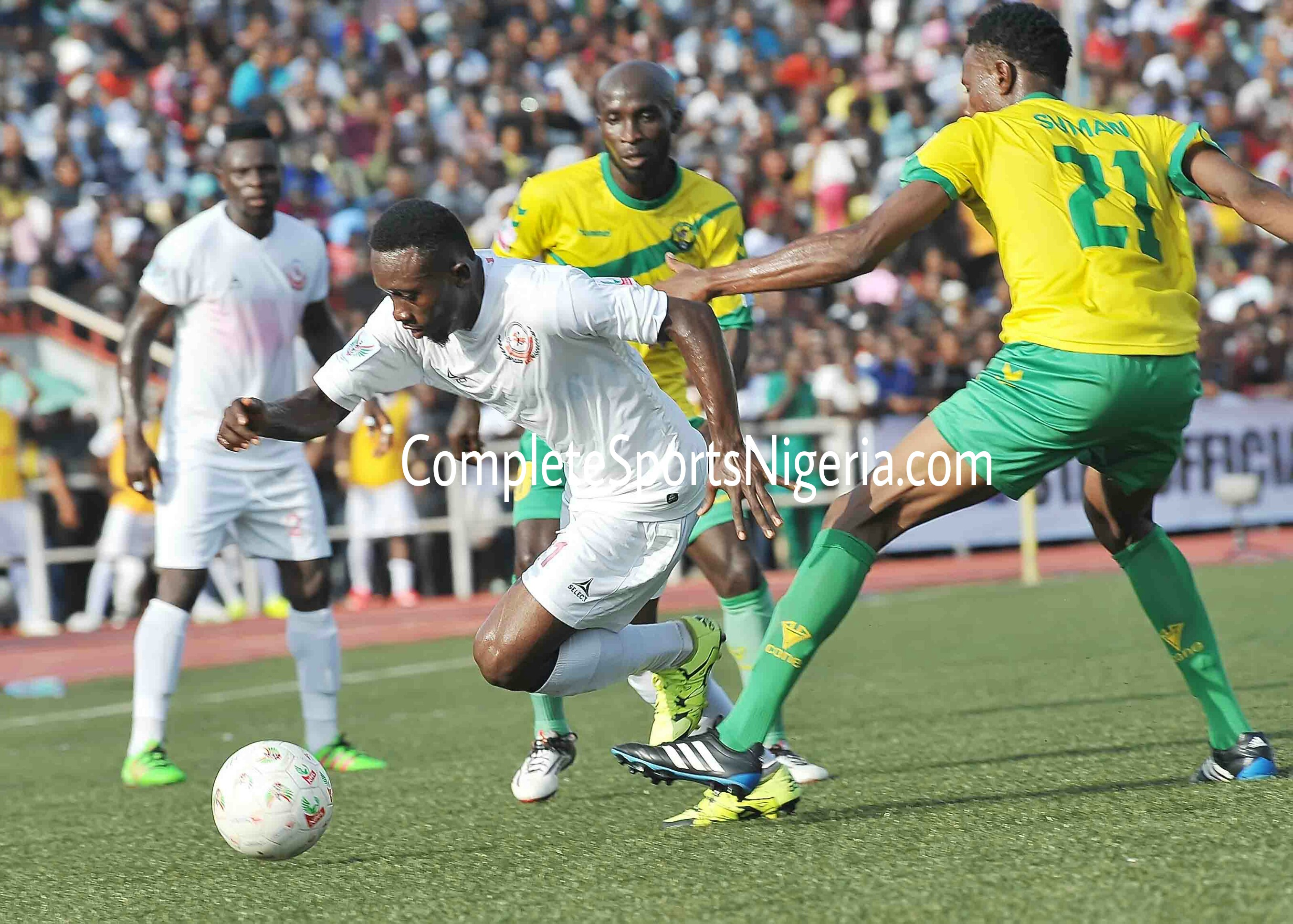 NPFL SUPER 4 Hosting Pleases Enugu State Governor