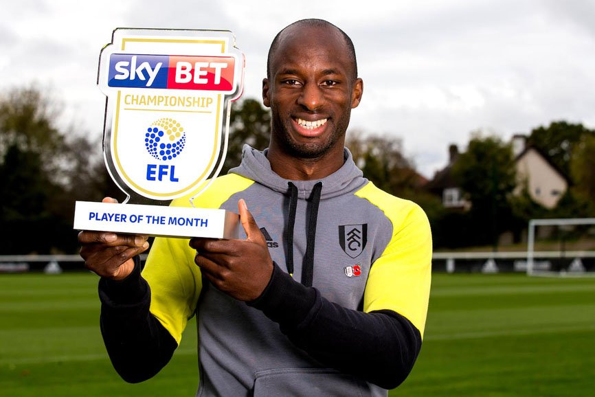 Aluko Named English Championship Player Of The Month For October