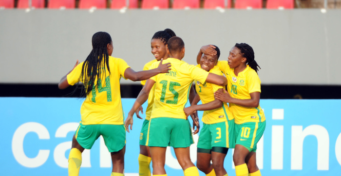 South Africa Thrash Egypt, Join Cameroon In AWCON Semis