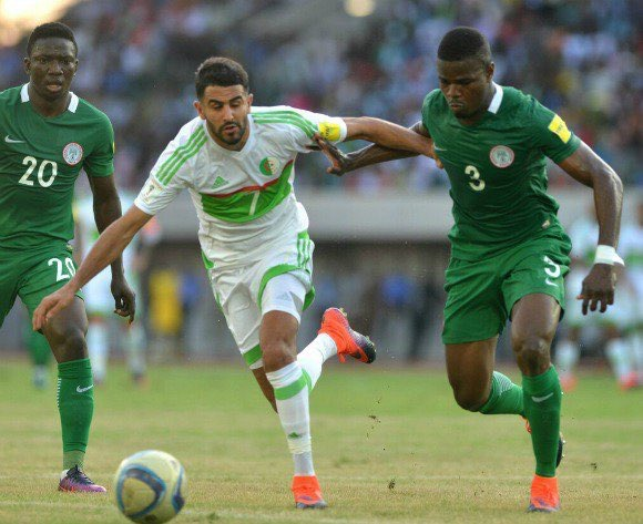How Super Eagles Rated Vs Algeria