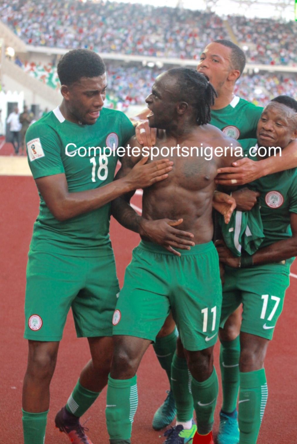 Chelsea Celebrate Mikel, Moses, Omeruo Over Eagles Win Against Algeria