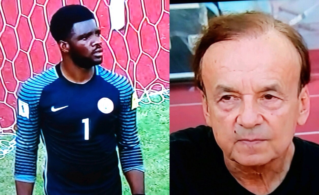 Rohr: Akpeyi Is in Good Shape For Nigeria Vs Cameroon