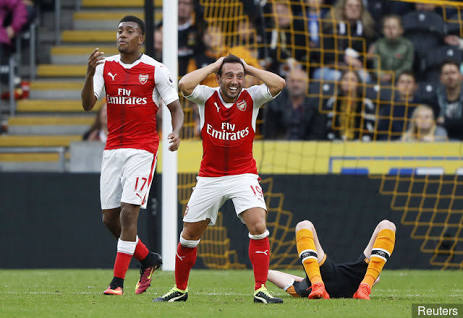 Cazorla: My Relationship With Iwobi, Akpom