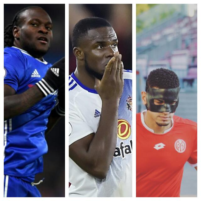 Moses, Anichebe, Balogun Up For Complete Sports November Player Of The Month