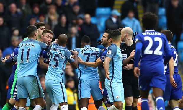 England FA Charge Man City, Chelsea For Disorderly Contact