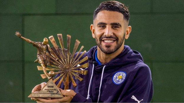 Mahrez Voted BBC African Player Of The Year