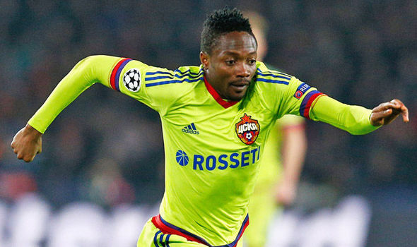 Musa Is CSKA's Top Scorer For 2016