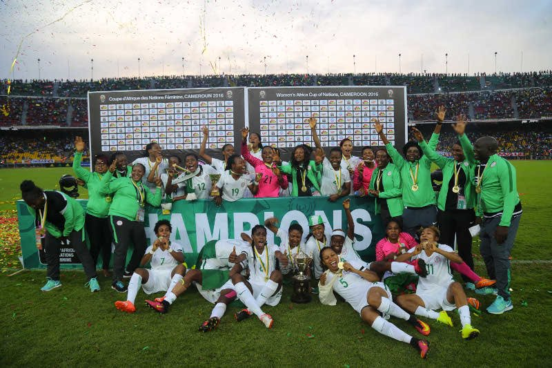 African Champions Super Falcons Rise In FIFA Rankings
