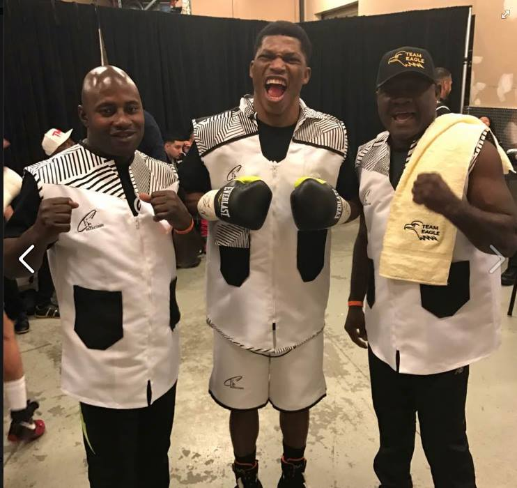 AAG Champ Oyeleye Wins First Pro Fight Under Mayweather Promotions
