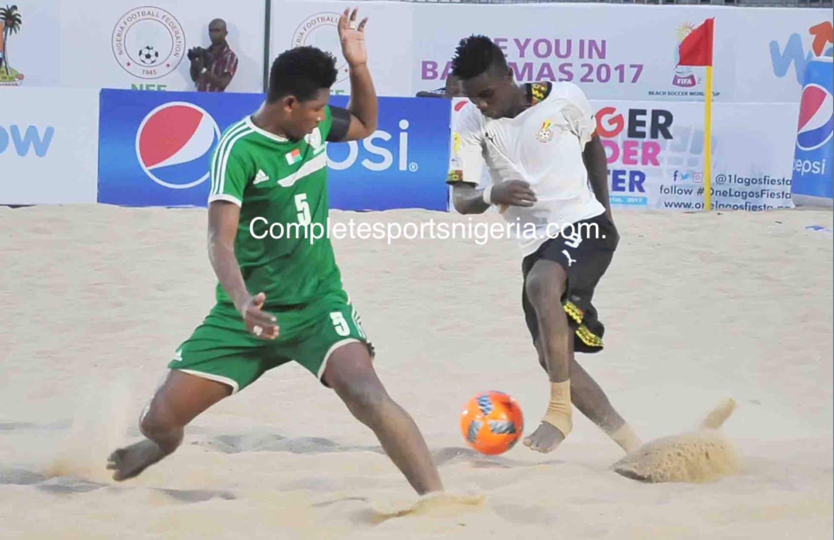 Beach AFCON: Madagascar Outclass Ghana 8-4 In Play-off Clash