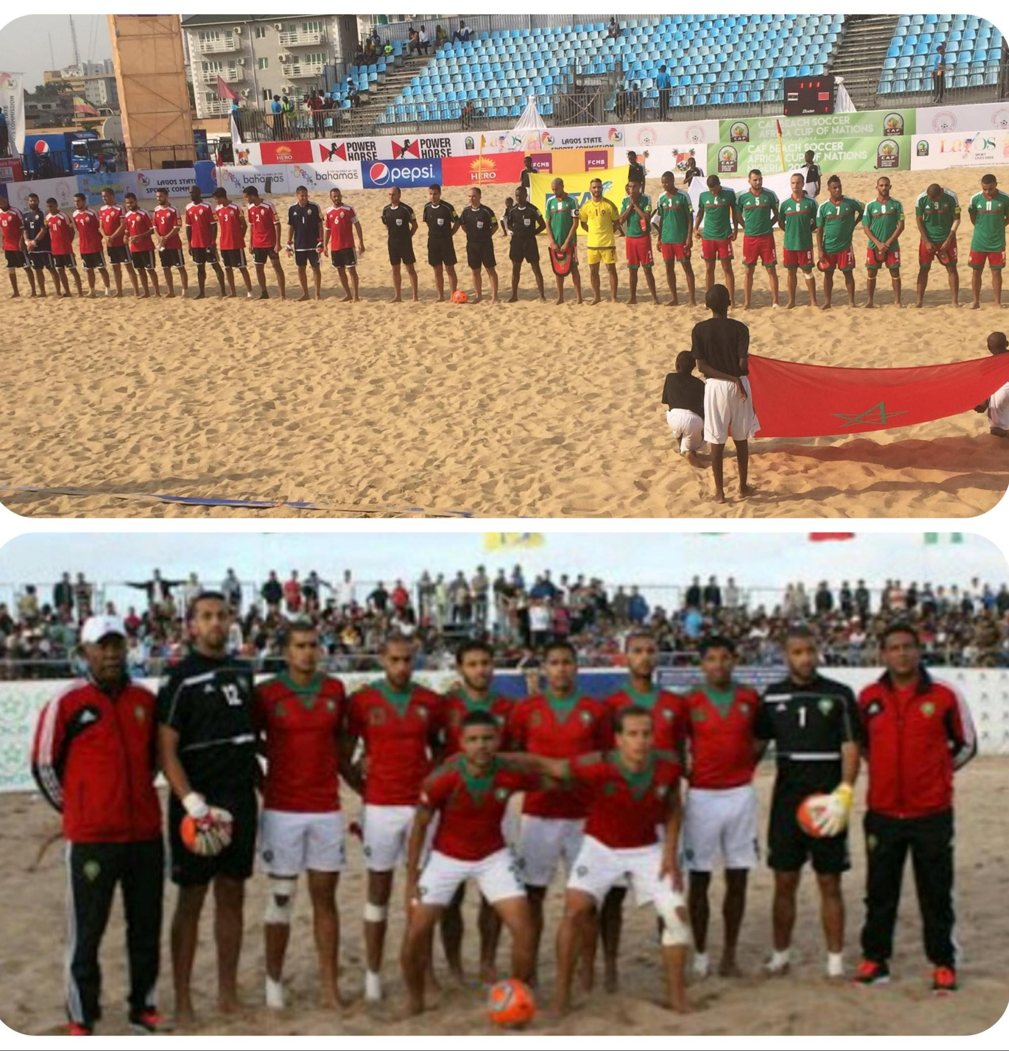 Beach AFCON: Morocco Maul Libya 9-3, Keep ‎Semi-Final Hopes Alive