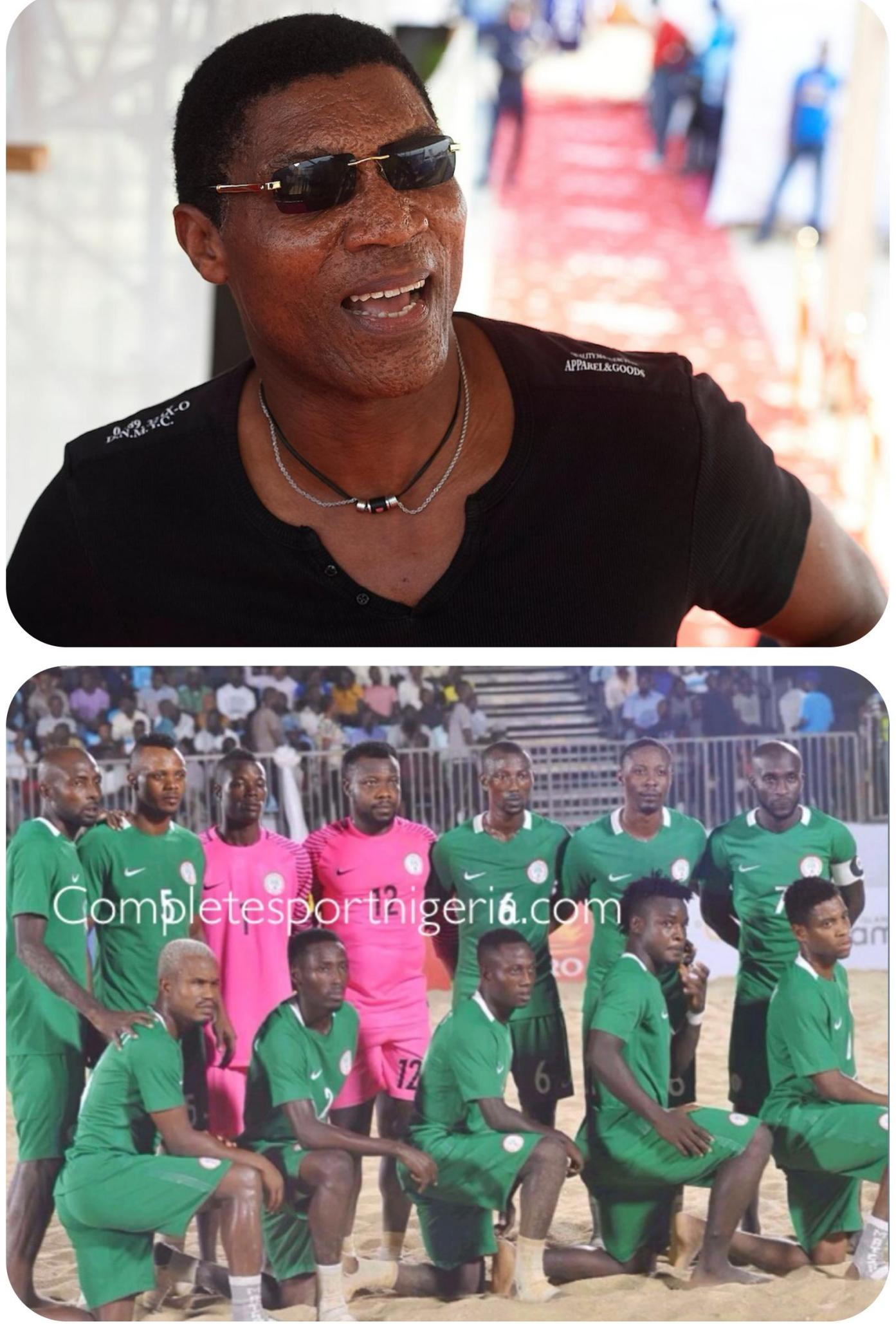 Beach AFCON: Rufai Backs Sand Eagles To Beat Ghana, Reach Semi-Finals