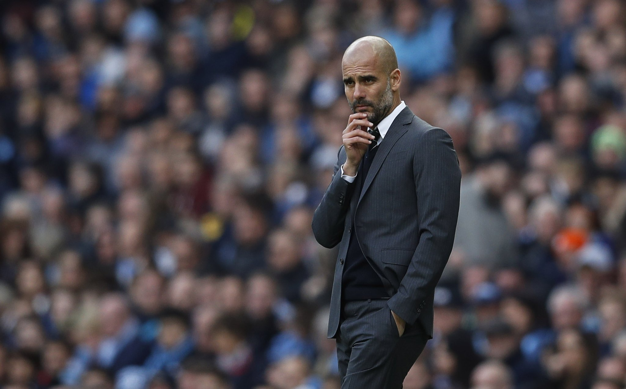 Guardiola Silent On Iheanacho, Other City Stars' Future; Focuses On Watford 'Final'