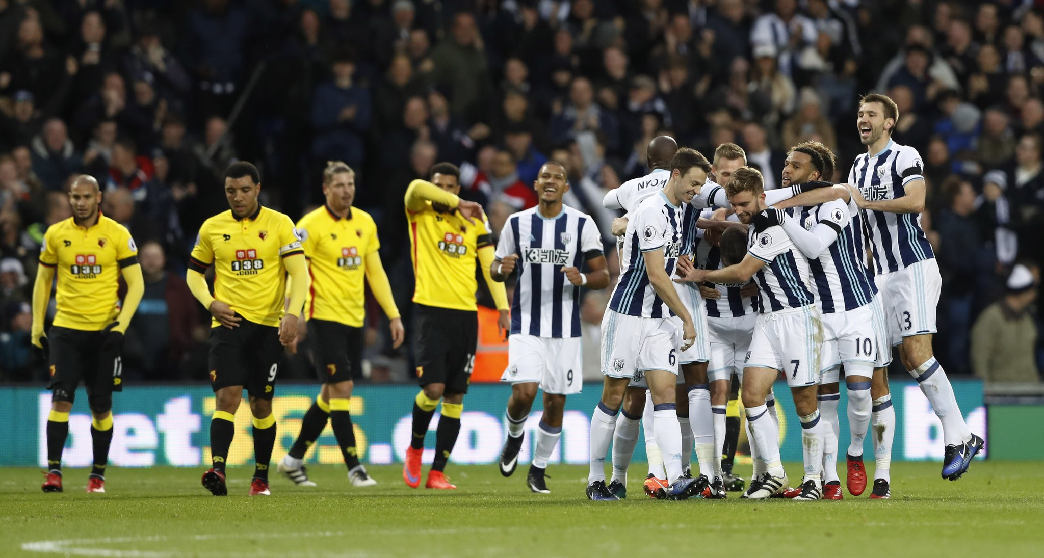Ighalo's Drought Continues As West Brom Beat Watford,Success Returns