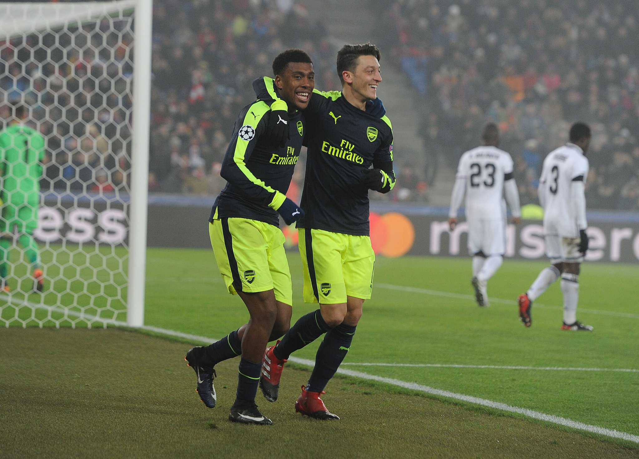 """Iwobi Has """"Great Feeling"""" About First UCL Goal, Praises Ozil"""