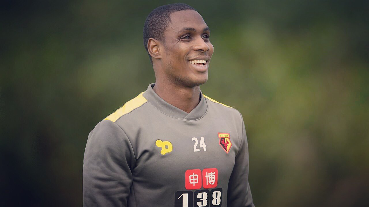 Ighalo: Mikel Welcome At Watford; Yorke, Cole My Idols; Aguero EPL's Best
