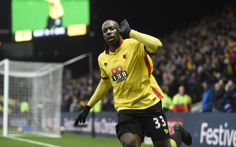 Okaka Bags Brace As Watford Edge Everton; Ighalo, Success Benched