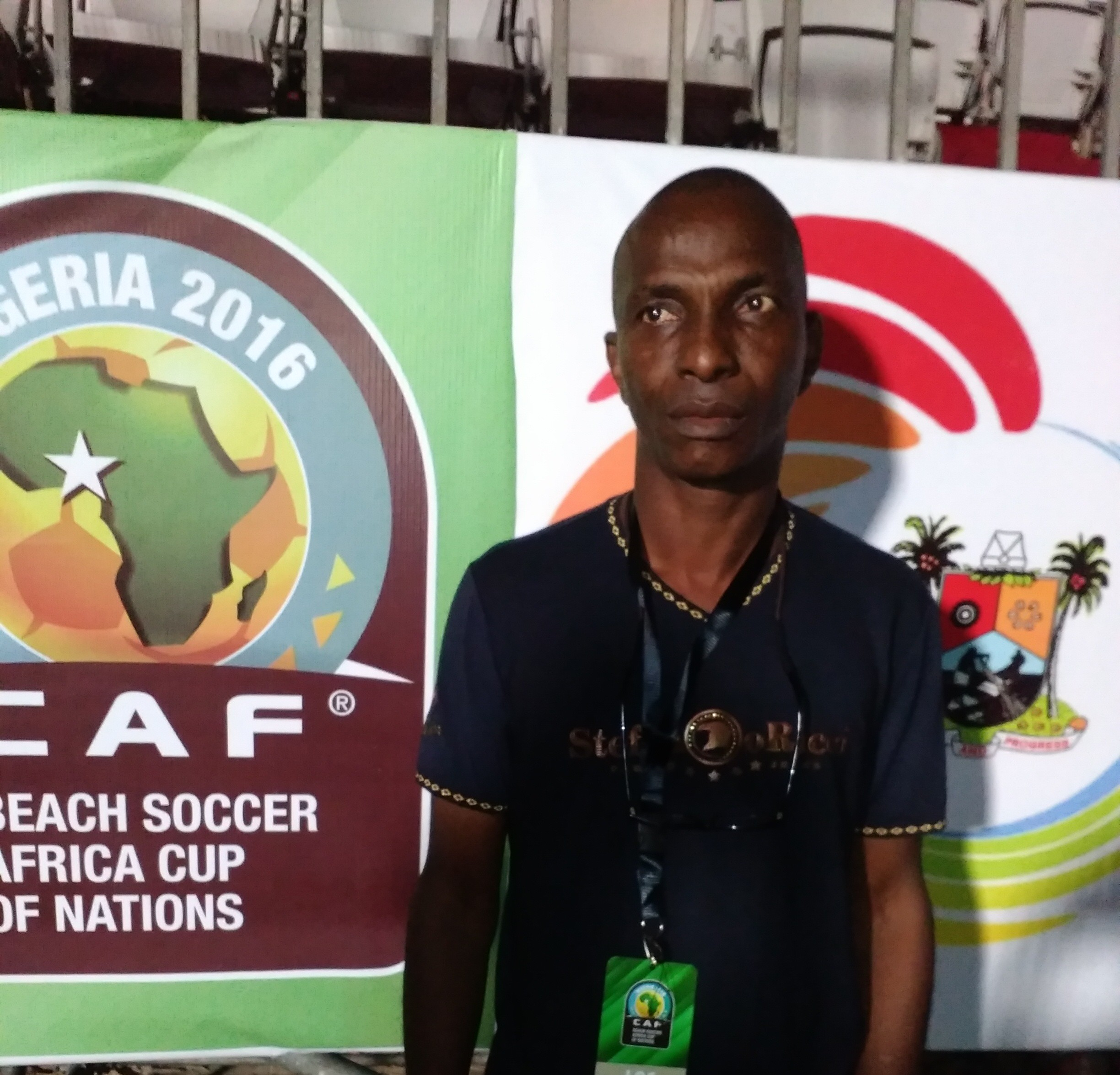 2016 Beach AFCON Chietain: Lagos Hosting Well, Will Do More