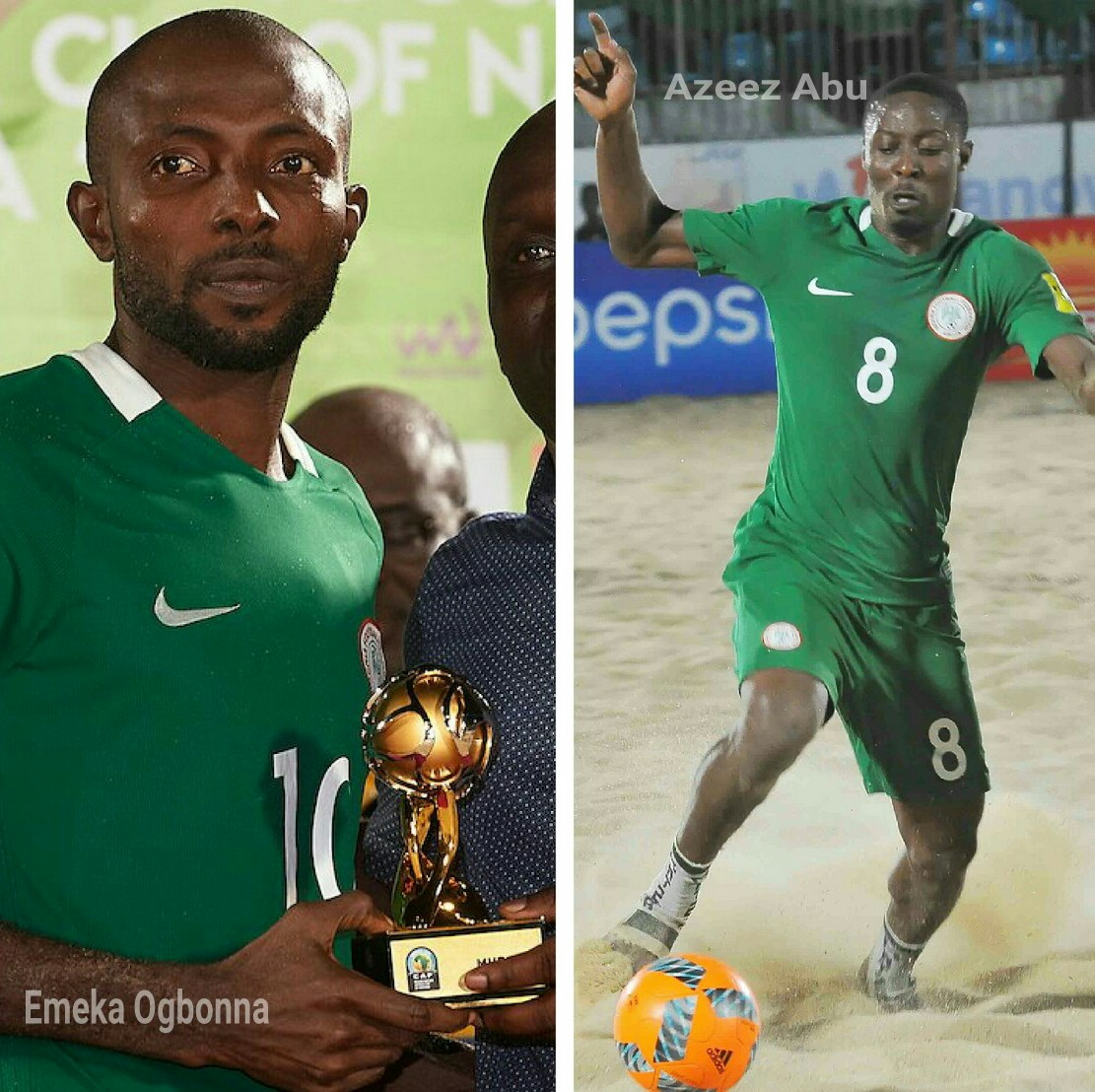 Beach Soccer AFCON: Ogbonna, Abu Lament Sand Eagles' Title Miss