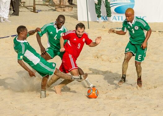 Beach Soccer AFCON: How Super Sand Eagles Have Fared So Far