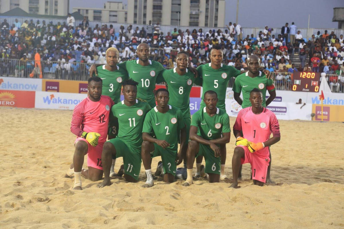 Azzez Urges 'Wounded' Sand Eagles To Focus On Beach Soccer AFCON