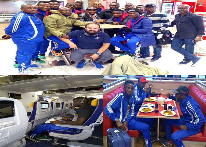 Rivers United Land In Madrid, In Top Spirit For Pre-Season