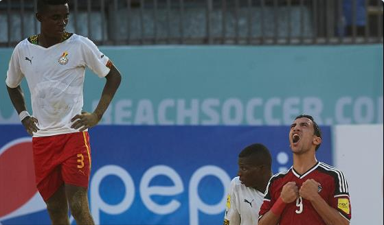 Ghana Beach Soccer Coach: Poor Officiating Cost Us Against Egypt