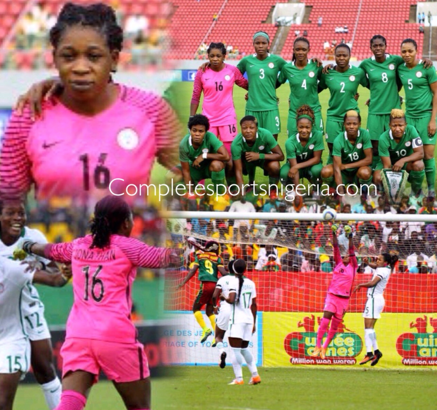 Jonathan: Nigerian Spirit Spurred Us To Win AWCON Title