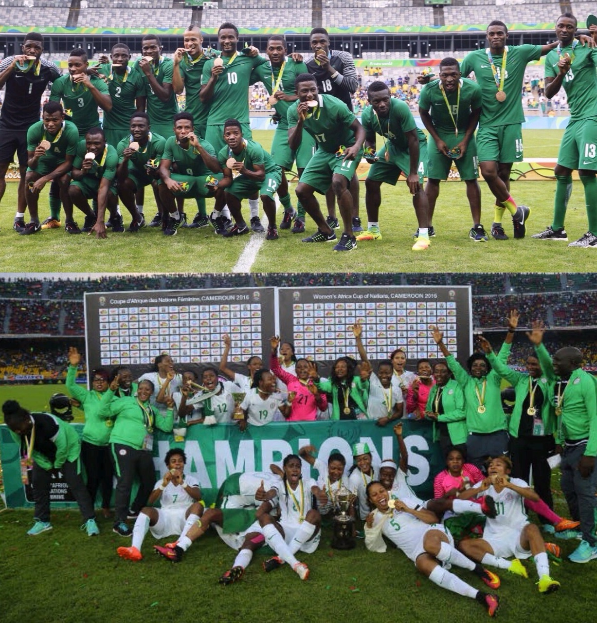 Lawal: 2016 'Fantastic Year' For Nigerian Football