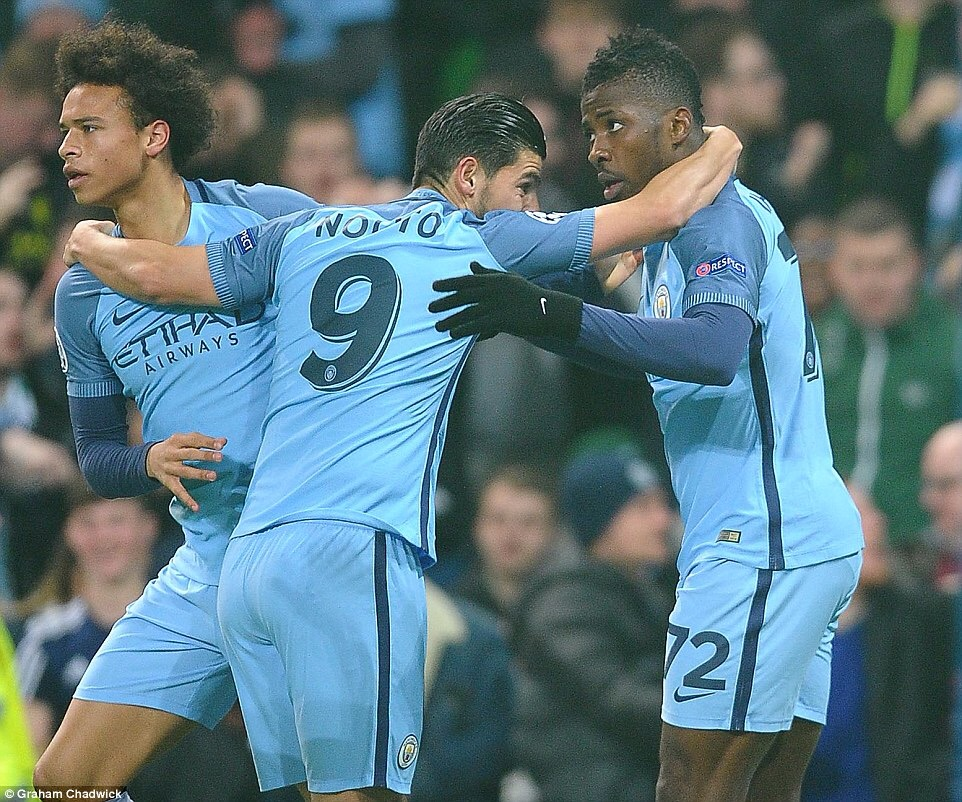 Zabaleta Urges Iheanacho To Grab Big Chance Offered By Aguero's Absence