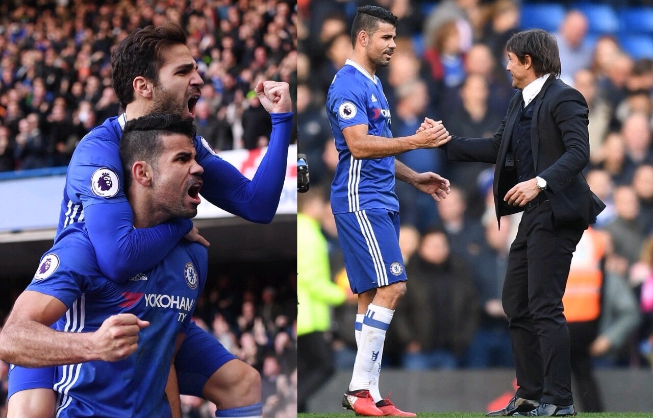 Conte Celebrates, Admits Chelsea Won Difficult Game Vs  West Brom