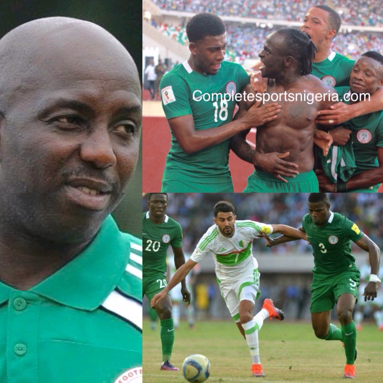 Russia 2018: Siasia Hails Super Eagles' Progress In African Qualifiers