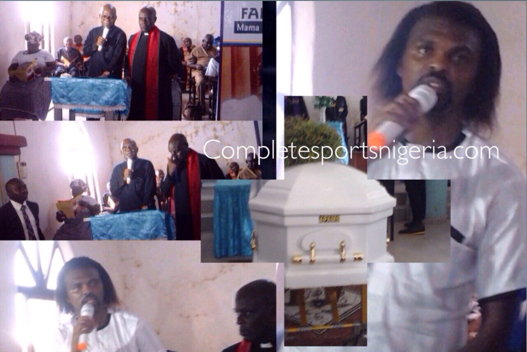 Kanu Weeps, Pays Emotional Tribute As He Buries Late Mother