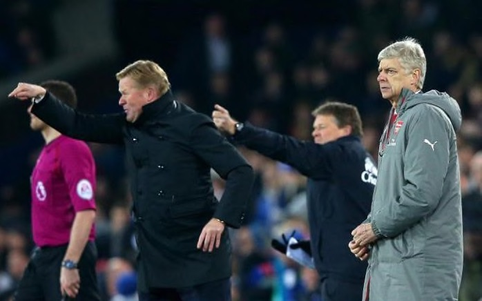 Wenger: Everton Played Real Cup Game Against Arsenal